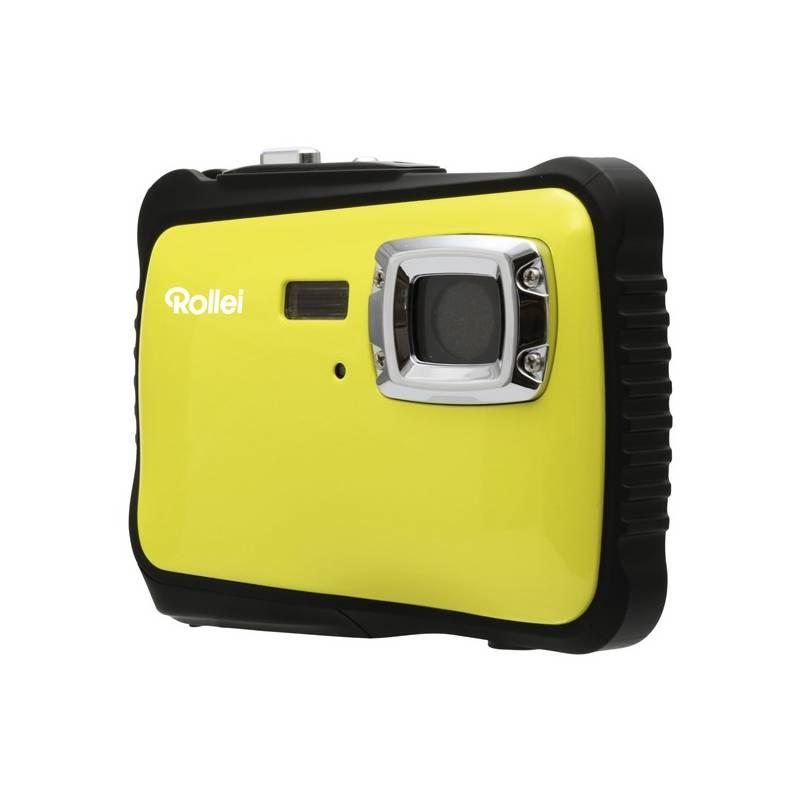 Digitálny fotoaparát Rollei Sportsline 65 čierny/žltý