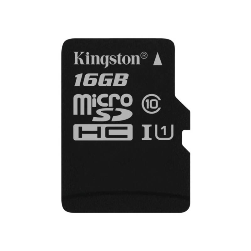 Pamäťová karta Kingston Canvas Select MicroSDHC 16GB UHS-I U1 (80R/10W) (SDCS/16GBSP)