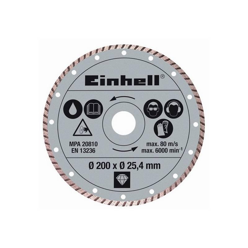 Kotouč diamantový Einhell, 200x25,4 mm k řezačkám TPR 200/2 a RT-SC 560 U