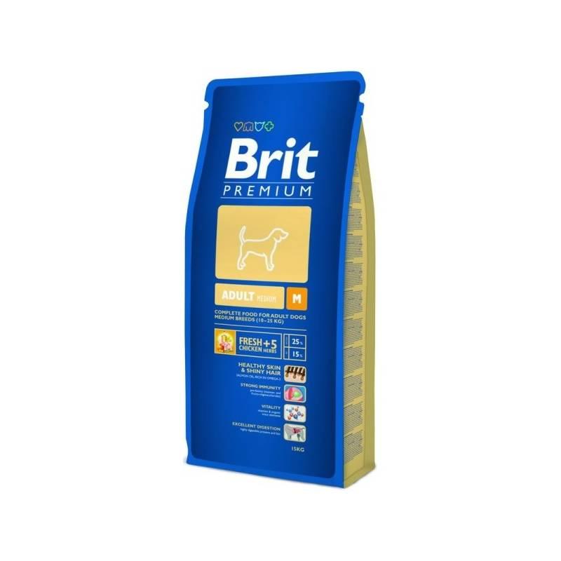 Granule Brit Premium Dog Adult M 15 kg