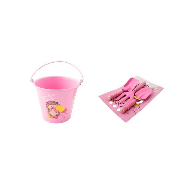 Set výrobkov M.A.T. pro malé zahradnice ružový