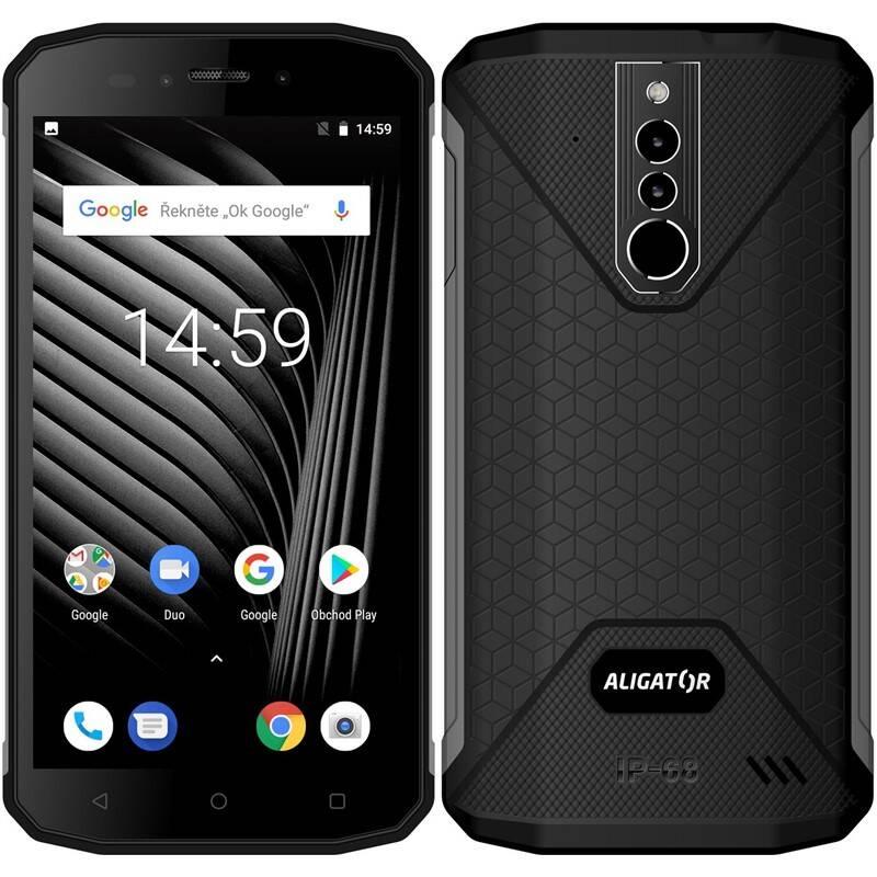 Mobilný telefón Aligator RX600 eXtremo (ARX600BB) čierny + Doprava zadarmo