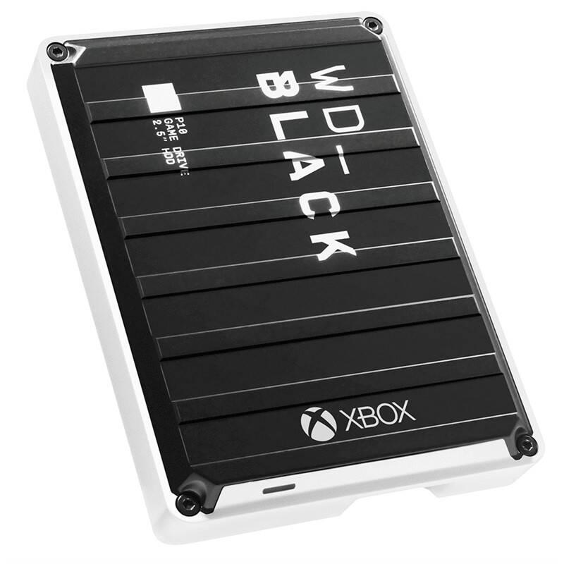 Externý pevný disk Western Digital WD_Black 5TB P10 Game Drive Xbox One (WDBA5G0050BBK-WESN) čierny/biely