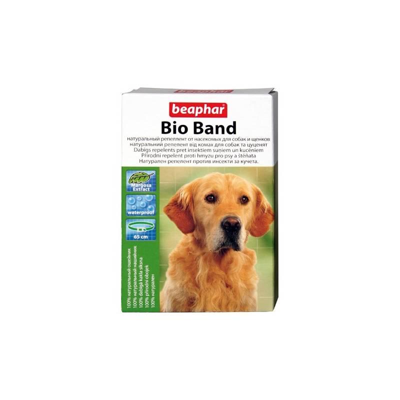 Antiparazitný obojok Beaphar Bio Band prírodný pre psy