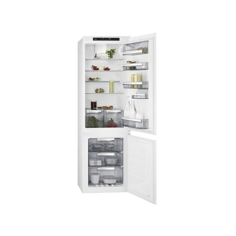Kombinácia chladničky s mrazničkou AEG Mastery SCE81816TS + Doprava zadarmo