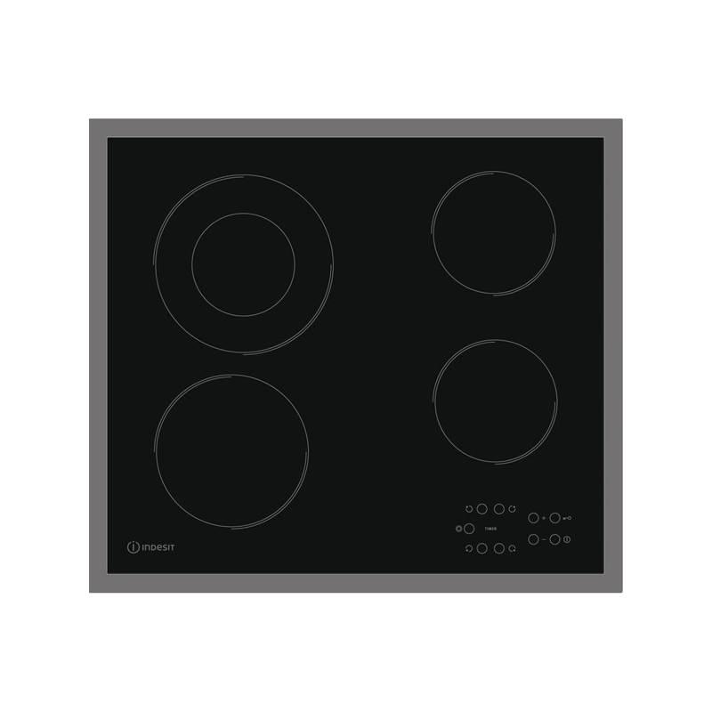 Sklokeramická varná deska Indesit RI 261 X černá