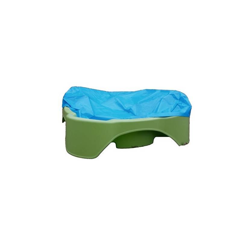 Pieskovisko/bazénik Marian Plast s plachtou, zeleno/modré modré/zelené