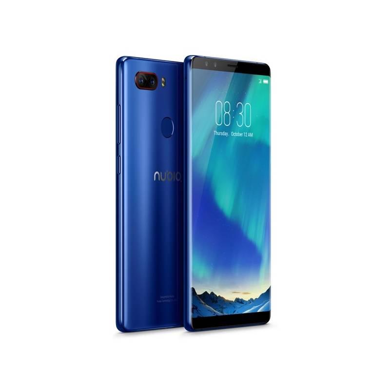 Mobilný telefón Nubia Z17s DualSIM 128 GB (6902176902253) modrý Software F-Secure SAFE, 3 zařízení / 6 měsíců (zdarma) + Doprava zadarmo