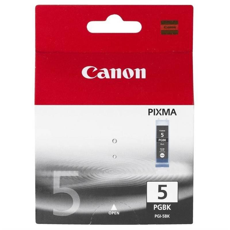 Cartridge Canon PGI-5Bk, 340 stran - originální (0628B001) čierna