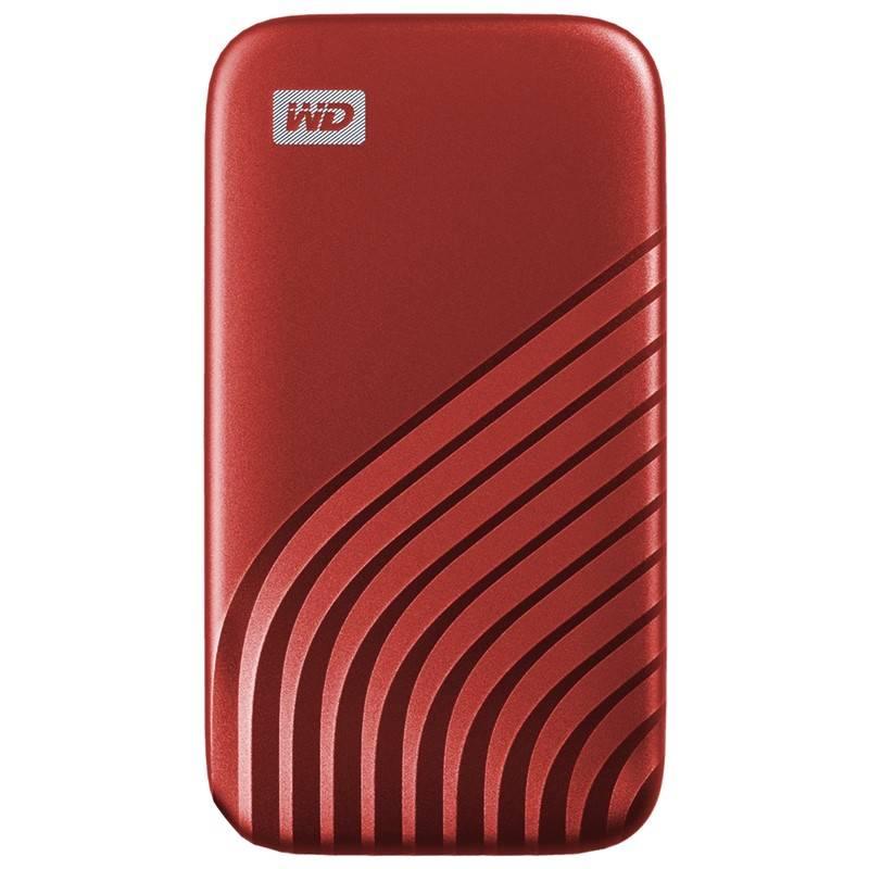 SSD externý Western Digital My Passport SSD 2TB (WDBAGF0020BRD-WESN) červený + Doprava zadarmo