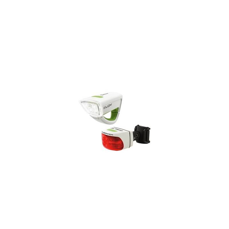 Sada svetiel Sigma Eloy + Cuberider biela