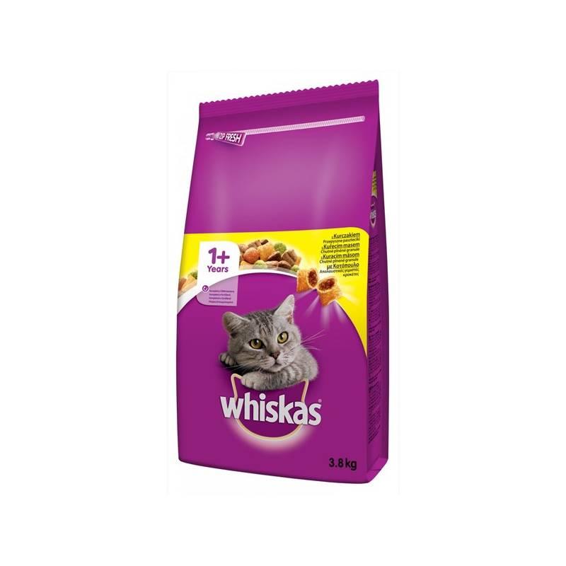 Granule Whiskas s kuřecím masem 3,8 kg