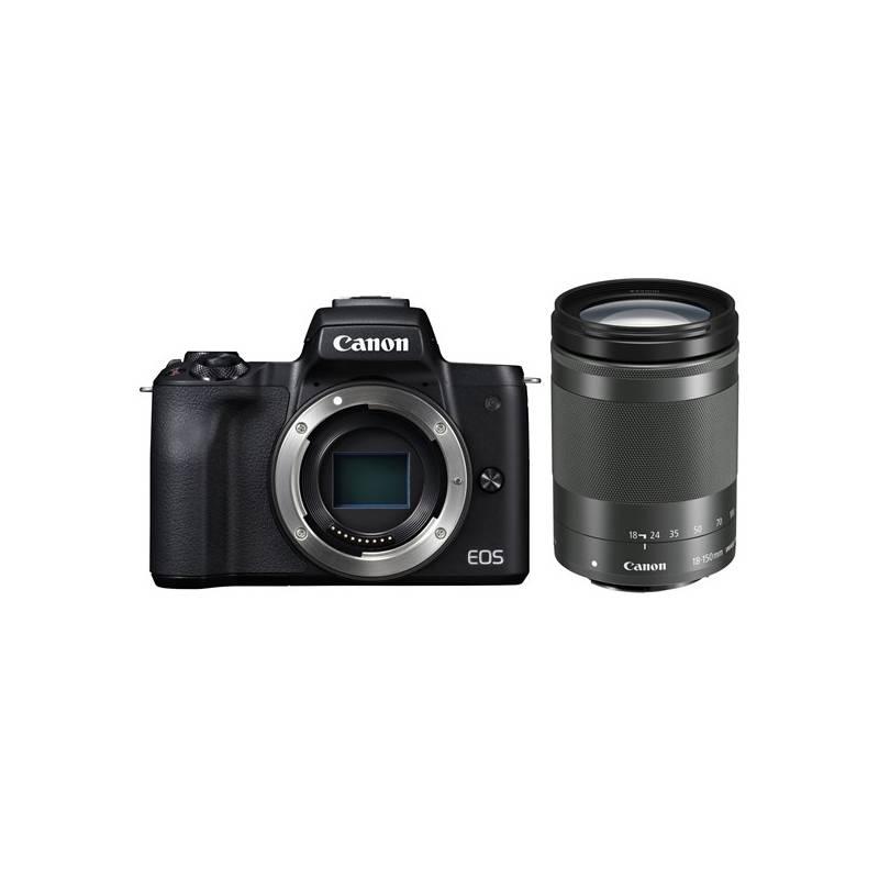 Digitálny fotoaparát Canon EOS M50 + EF-M18-150 (2680C042) čierny + Doprava zadarmo