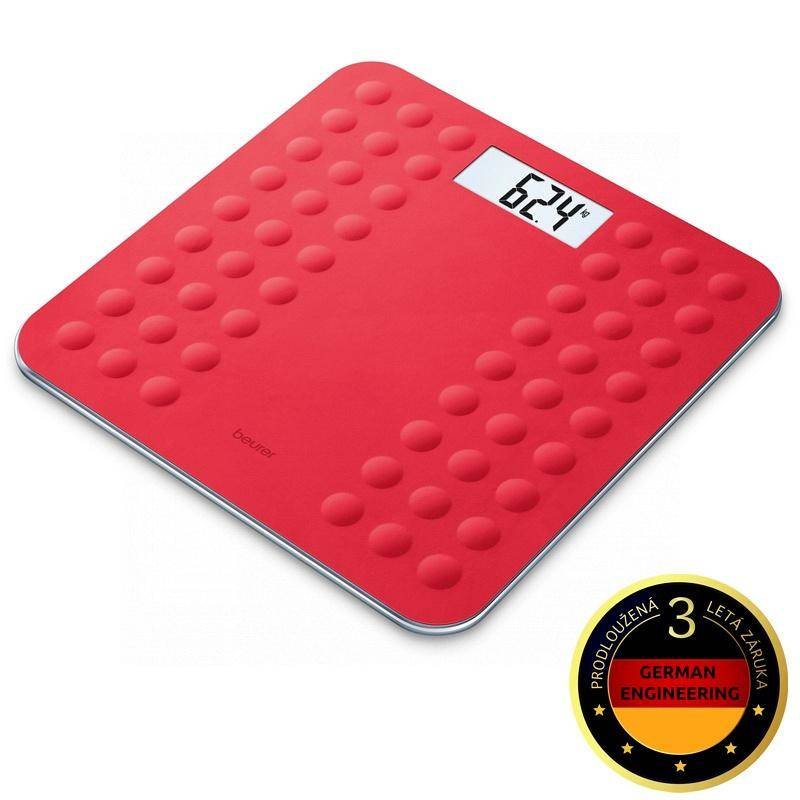 Osobná váha Beurer GS300COR červená