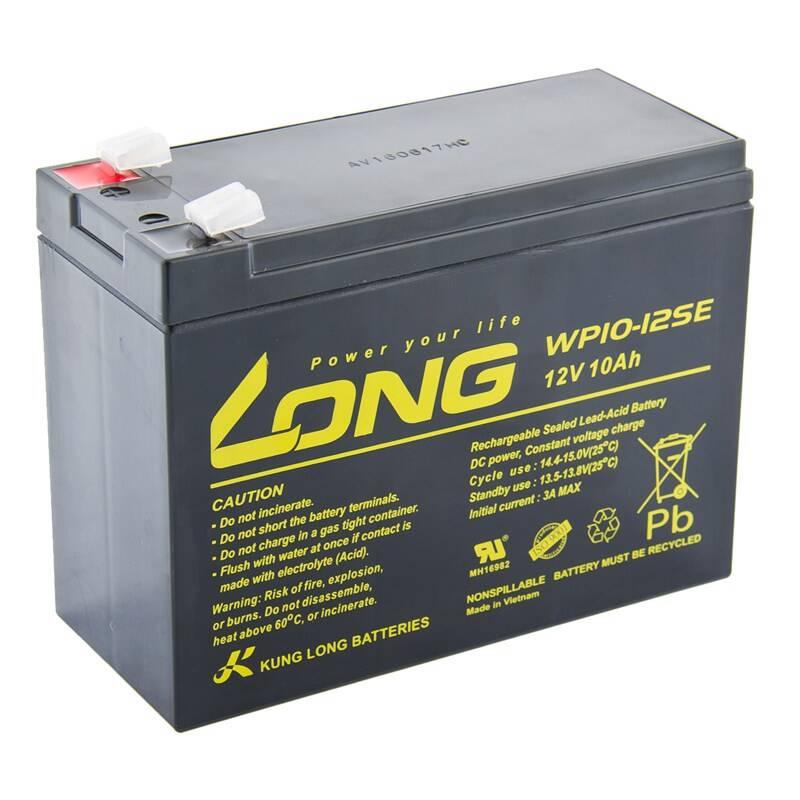 Akumulátor Avacom Long 12V 10Ah olověný DeepCycle F2 (PBLO-12V010-F2AD)