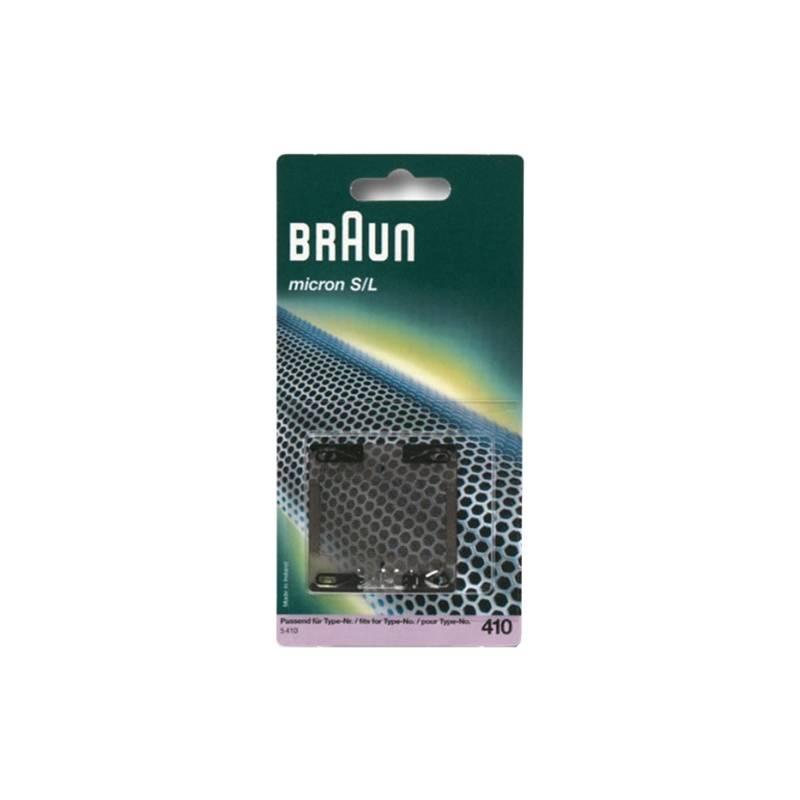 Náhradní planžeta Braun 410 Micron Black (5410951/85000582) šedá