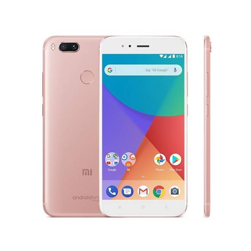 Mobilný telefón Xiaomi Mi A1 CZ LTE Dual SIM (PH3620) ružový + Doprava zadarmo
