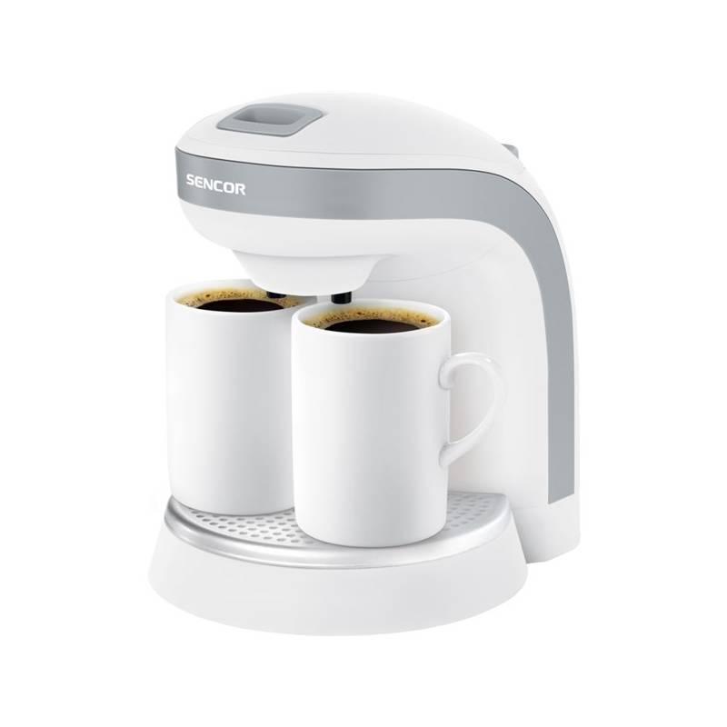 Kávovar Sencor SCE 2001WH biely