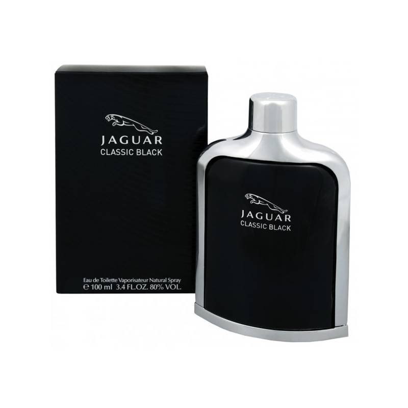 woda toaletowa jaguar classic black 100ml. Black Bedroom Furniture Sets. Home Design Ideas