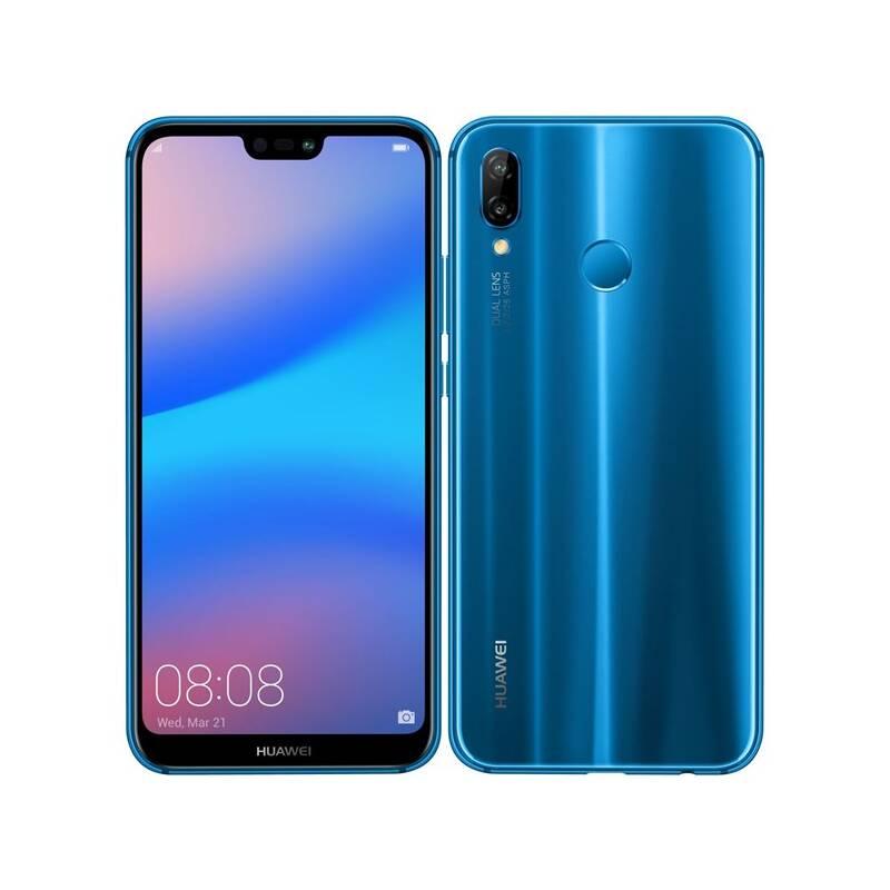 Mobilný telefón Huawei P20 lite (SP-P20LDSLOM) modrý Software F-Secure SAFE, 3 zařízení / 6 měsíců (zdarma)Fitness náramek Huawei Color Band A2 - černé (zdarma) + Doprava zadarmo