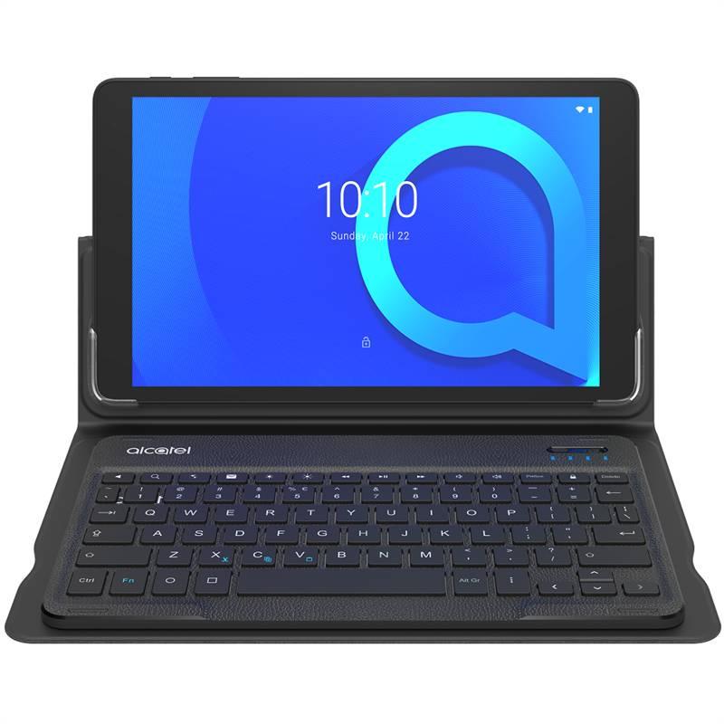 Dotykový tablet ALCATEL 1T 10 Wi-Fi 8082 s obalem a klávesnicí (8082-2AALE11-1) černý