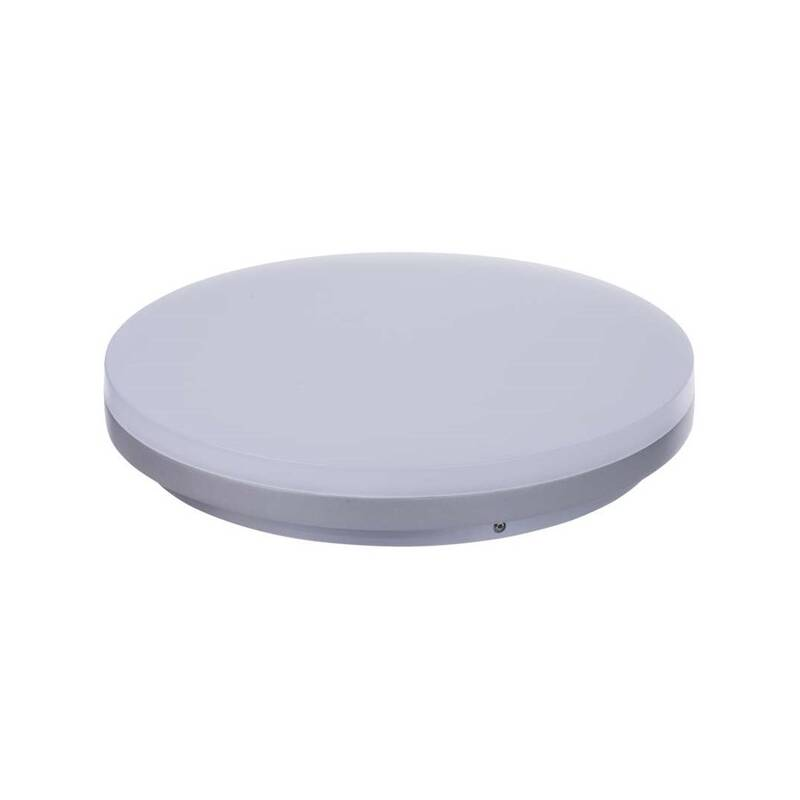 LED stropné svietidlo EMOS kruh, 270 x 44 mm, 29W, 1950 lm (1539013020) strieborné + Doprava zadarmo