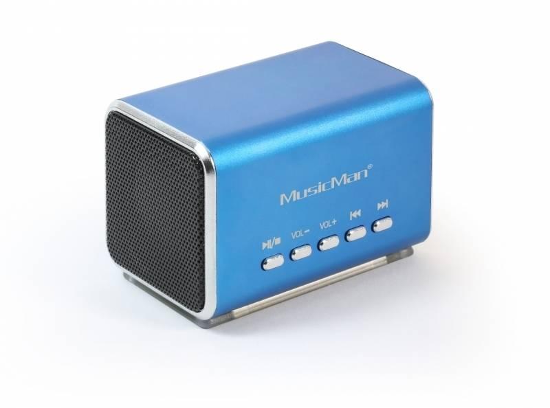 Prenosný reproduktor Technaxx MusicMan (3430) modrý + Doprava zadarmo