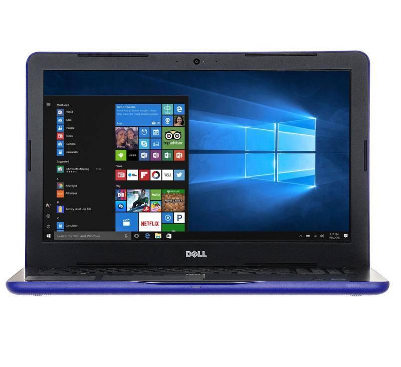 Notebook Dell Inspiron 15 5000 (5567) (N-5567-N2-517B) modrý + Doprava zadarmo