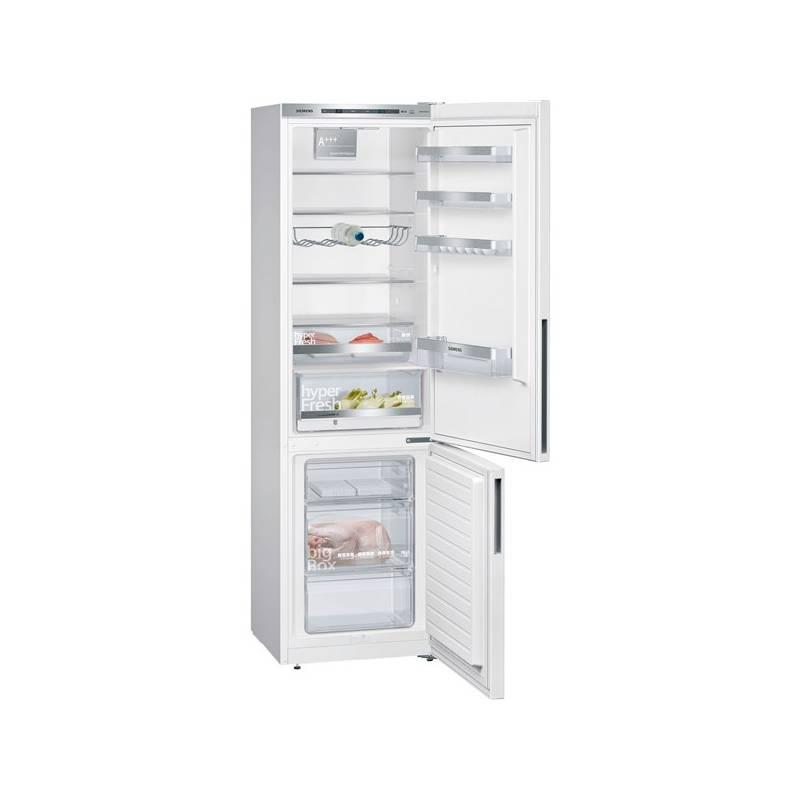 Kombinácia chladničky s mrazničkou Siemens KG39EVW4A biela + Doprava zadarmo