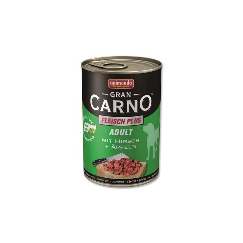 Konzerva Animonda Adult Gran Carno jelení maso + jablka 400g