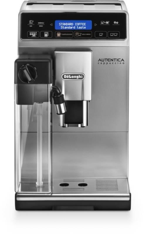 Espresso DeLonghi Autentica ETAM 29.660.SB čierne/strieborné