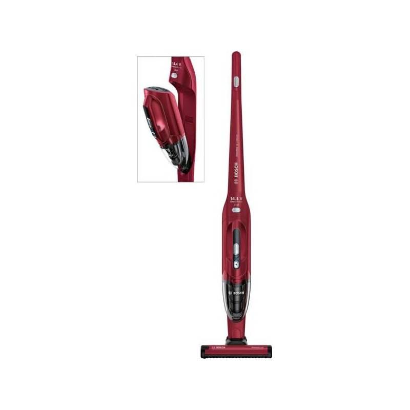 Vysávač tyčový Bosch Readyy'y BBH2P14L červený + Doprava zadarmo