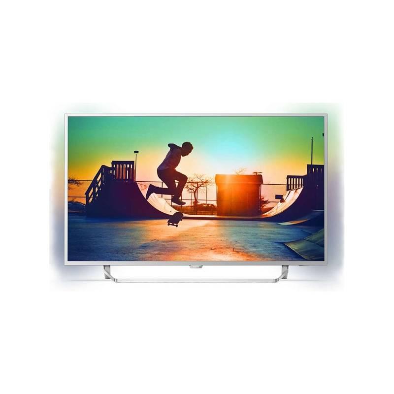 Televízor Philips 49PUS6412 strieborná + Doprava zadarmo