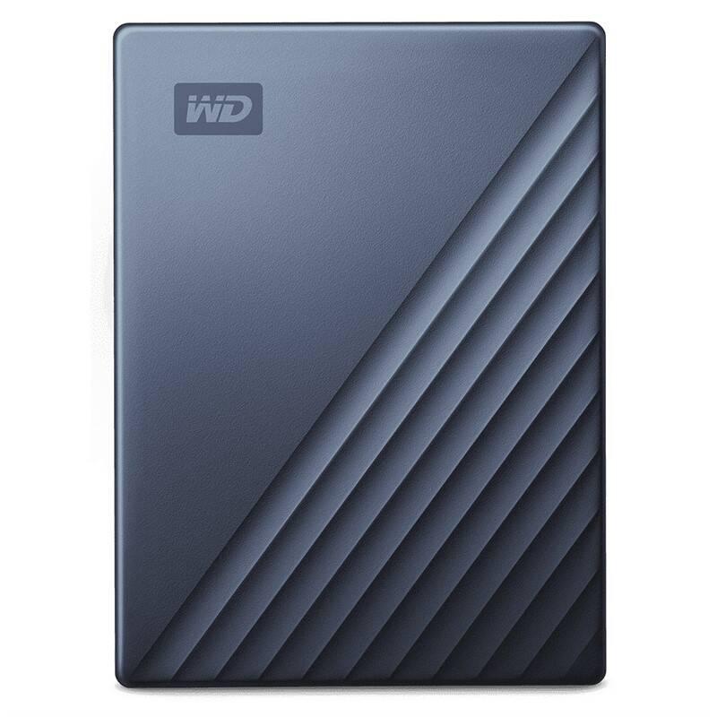 Externý pevný disk Western Digital My Passport Ultra 2TB (WDBC3C0020BBL-WESN) čierny/modrý + Doprava zadarmo