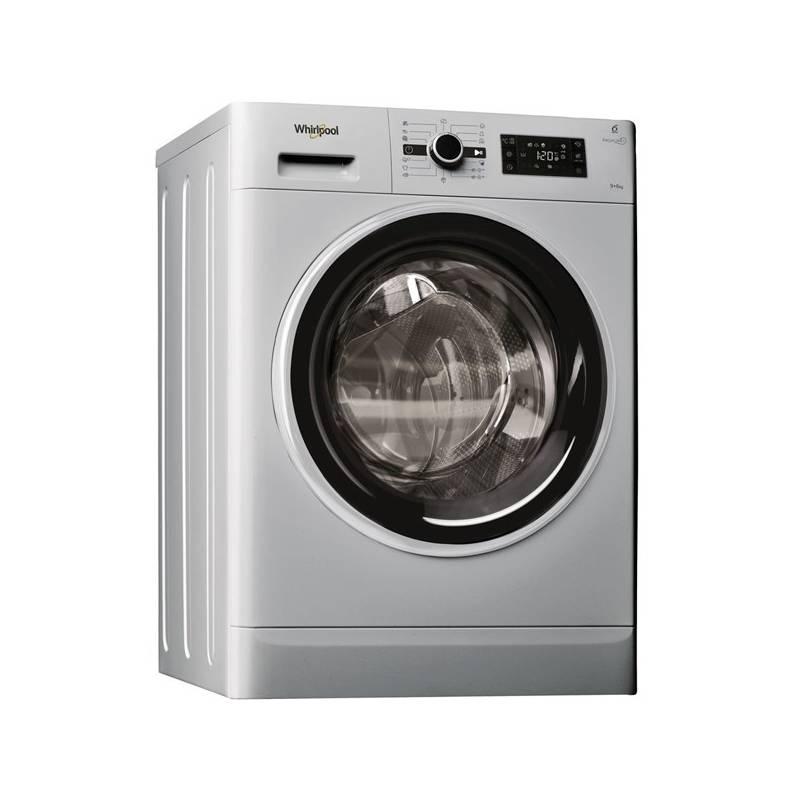 Automatická pračka se sušičkou Whirlpool FWDG96148SBS EU stříbrná