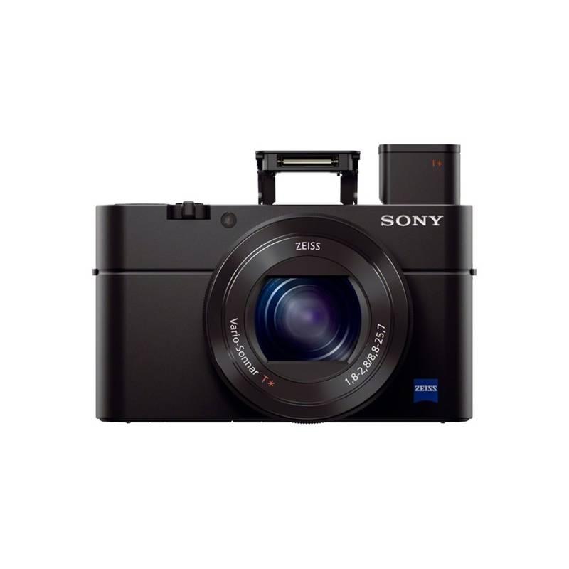 Digitálny fotoaparát Sony Cyber-shot DSC-RX100 III čierny + Doprava zadarmo
