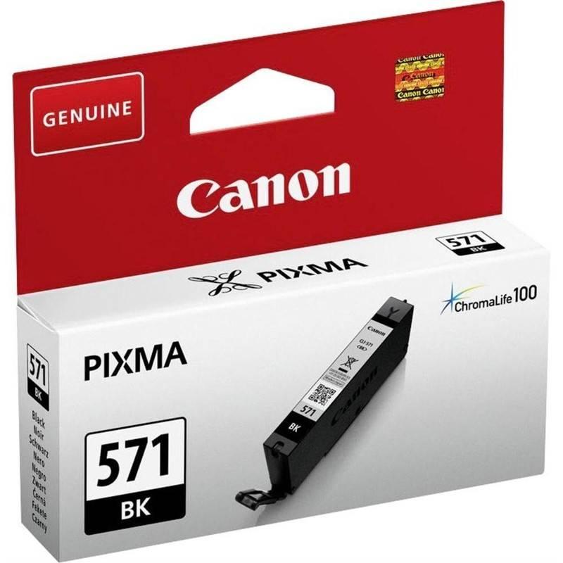 Cartridge Canon CLI-571BK (0385C001) čierna