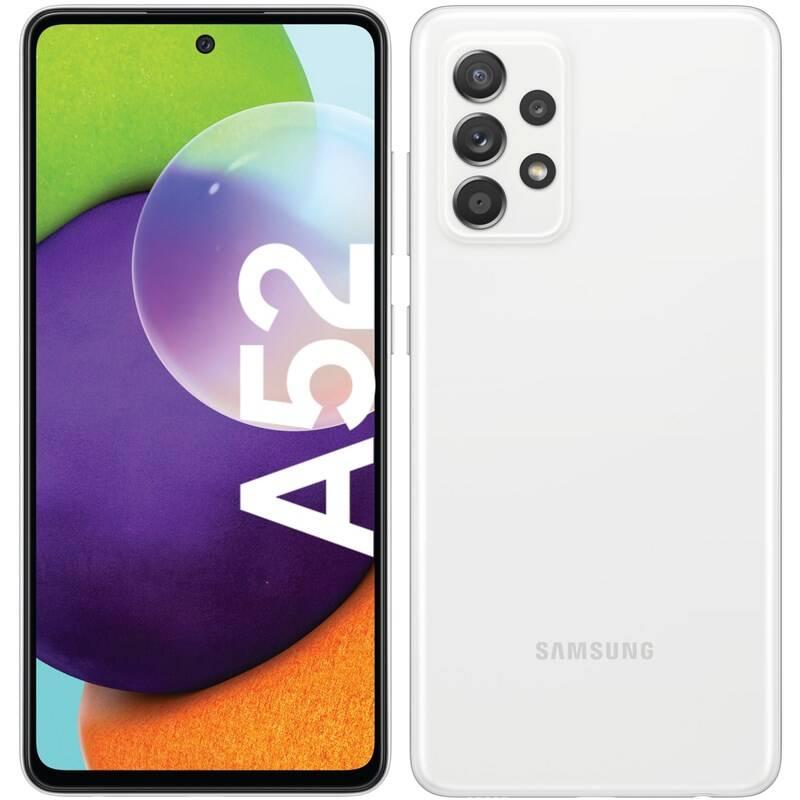 Mobilný telefón Samsung Galaxy A52 128 GB (SM-A525FZWGEUE) biely