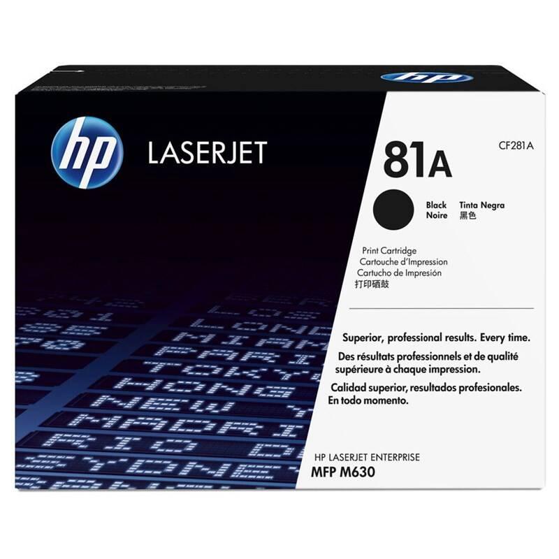 Toner HP 81A, 10500 stran (CF281A) čierny