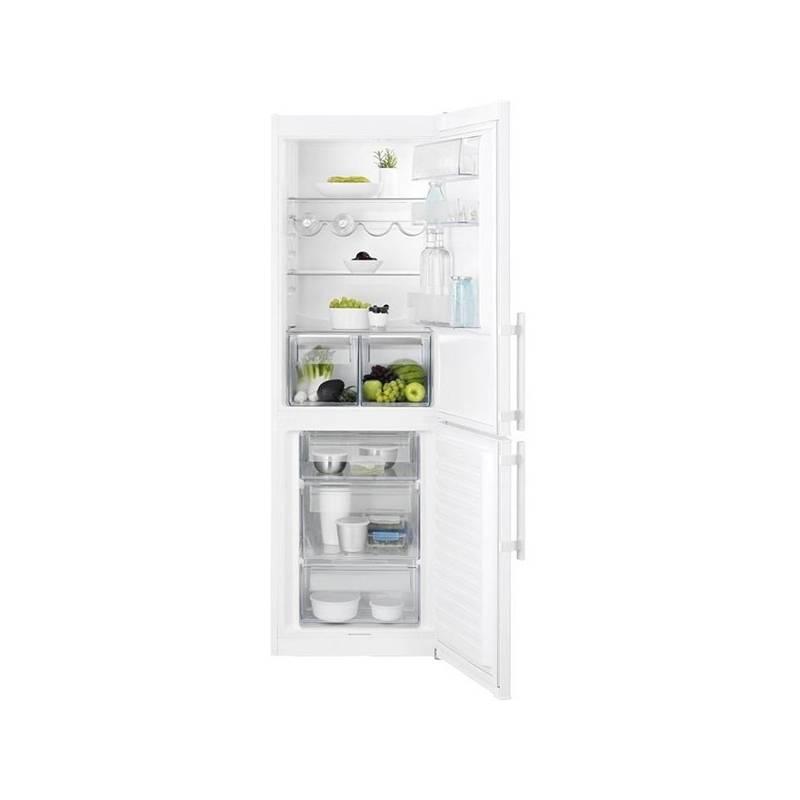 Kombinácia chladničky s mrazničkou Electrolux EN3601MOW biela + Doprava zadarmo