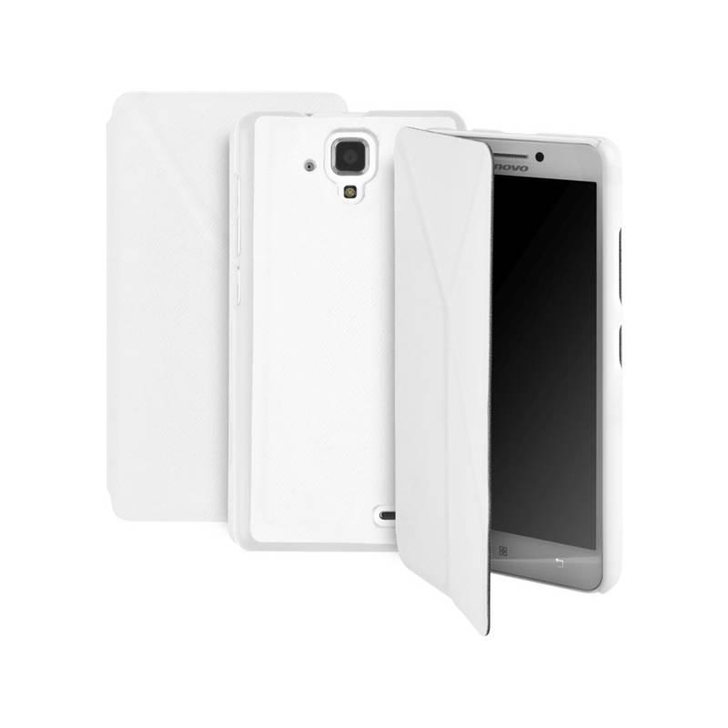 Púzdro na mobil GoGEN pro Lenovo A536 (GOGCASEA536W) biele