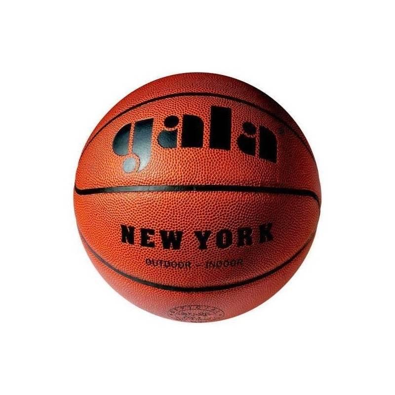 Obrázok Míč basket NEW YORK  6021S - hnědá