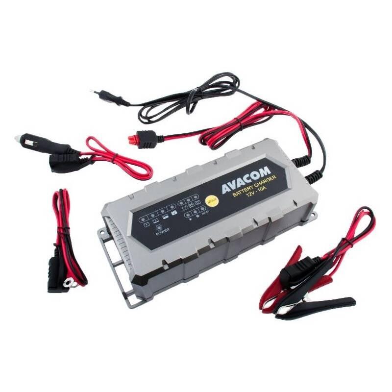 Nabíjačka Avacom 12V 10A pro olověné AGM/GEL akumulátory (20 - 200Ah) (NAPB-A100-012)