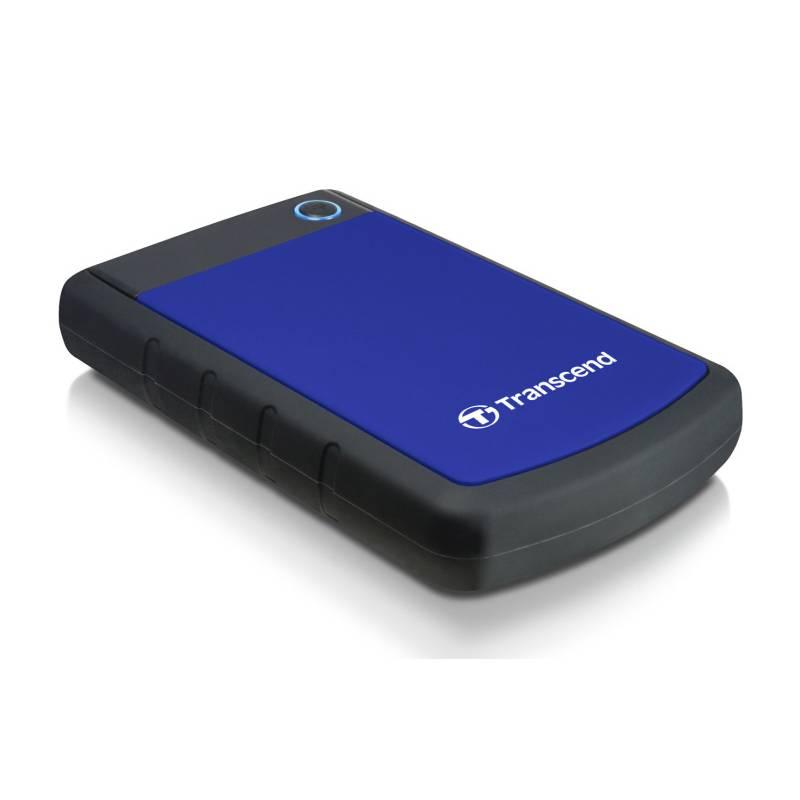 Externý pevný disk Transcend StoreJet 25H3B 1TB (TS1TSJ25H3B) čierny/modrý