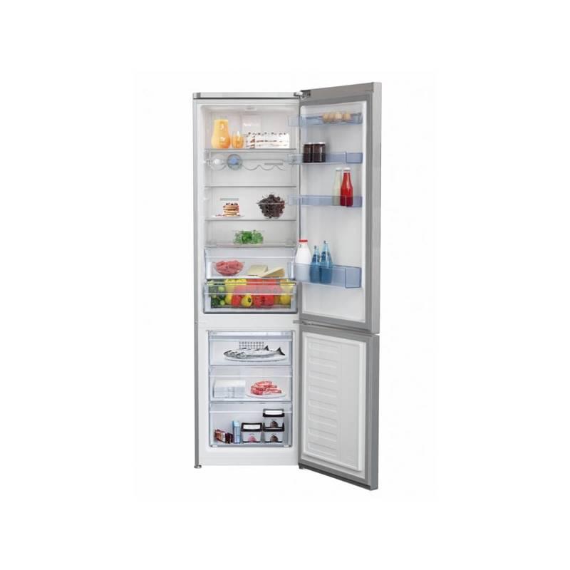 Kombinácia chladničky s mrazničkou Beko RCNA 400 E40ZX nerez + Doprava zadarmo