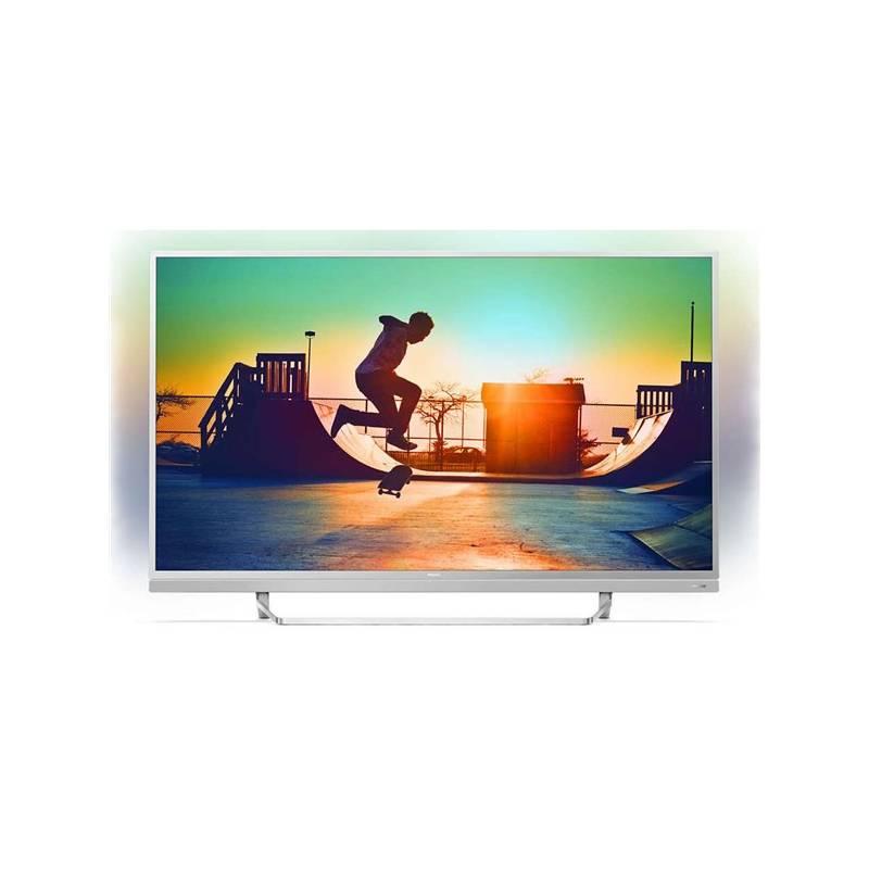 Televízor Philips 55PUS6482 strieborná + Doprava zadarmo