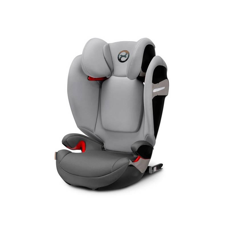 Autosedačka Cybex Solution S-fix 2018, 15-36kg, Manhattan Grey + Doprava zadarmo