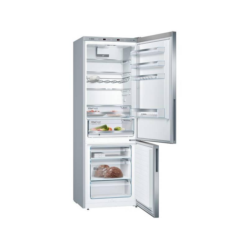 Kombinácia chladničky s mrazničkou Bosch KGE49VI4A nerez + Doprava zadarmo