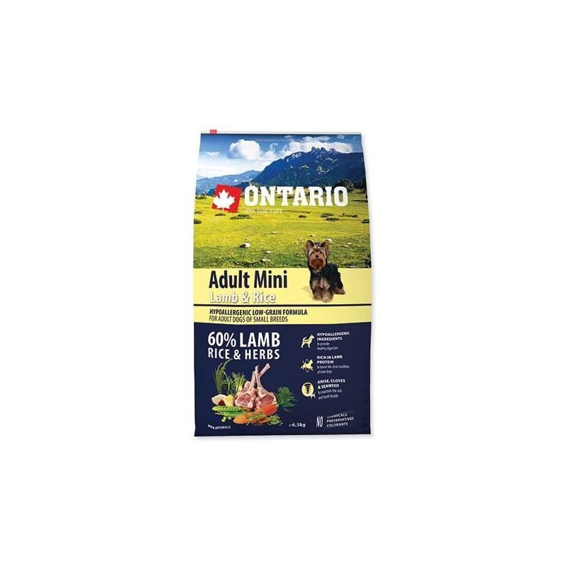 Granuly Ontario Adult Mini Lamb & Rice 6,5 kg