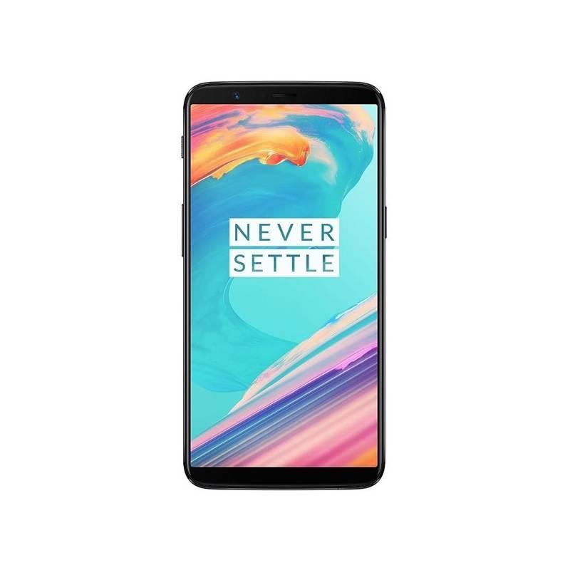 Mobilný telefón OnePlus 5T 128 GB Dual SIM čierny + Doprava zadarmo